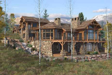 Dual layer dvd custom log homes for Unique log homes